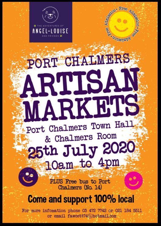 Port Chalmers Artisan Market 25th July 2020